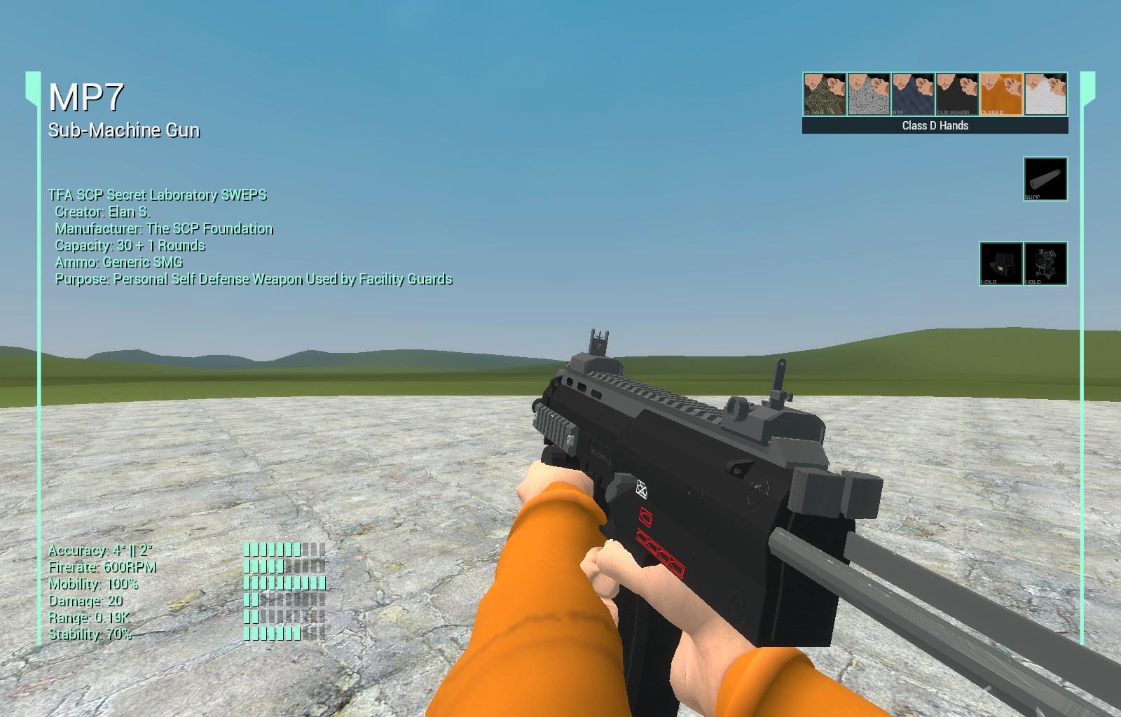 Steam Workshop :: [TFA][AT] SCP:SL MP7