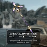 Aluneth, Greatstaff of the Magi (Talking Staff Voiced by Matthew Mercer)画像
