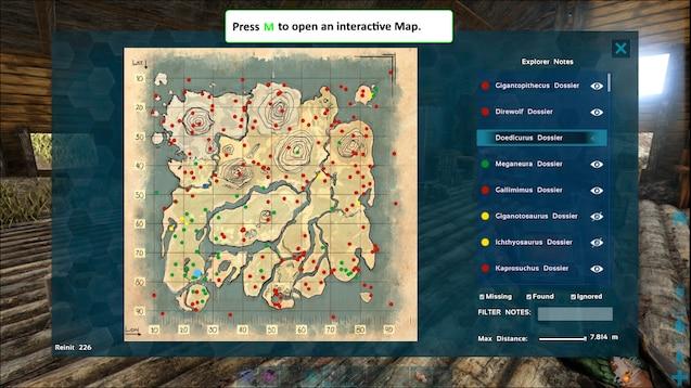 Steam Workshop :: Explorer Note Tracker - Universal