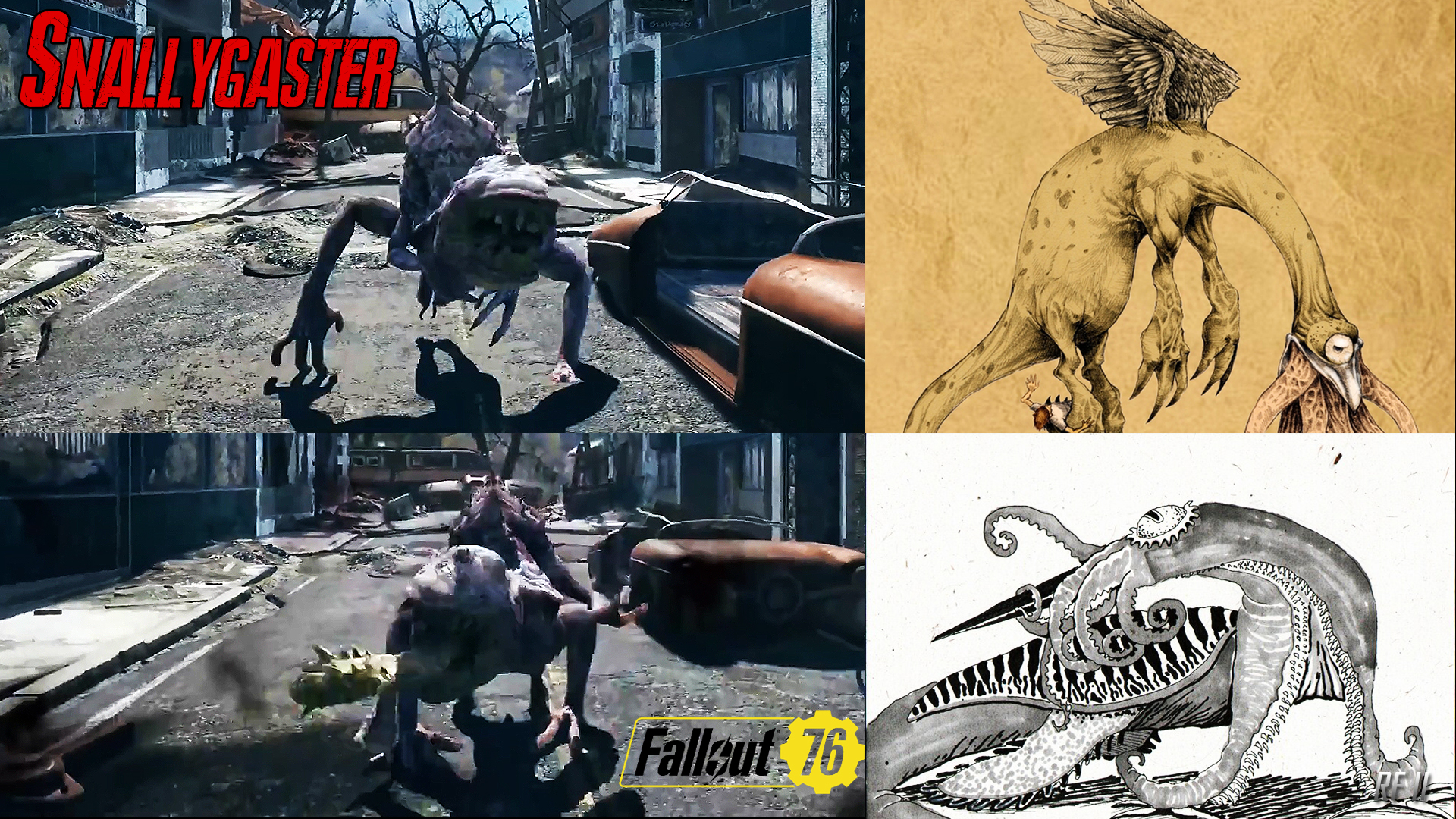 Steam Community :: :: Snallygaster - Fallout 76