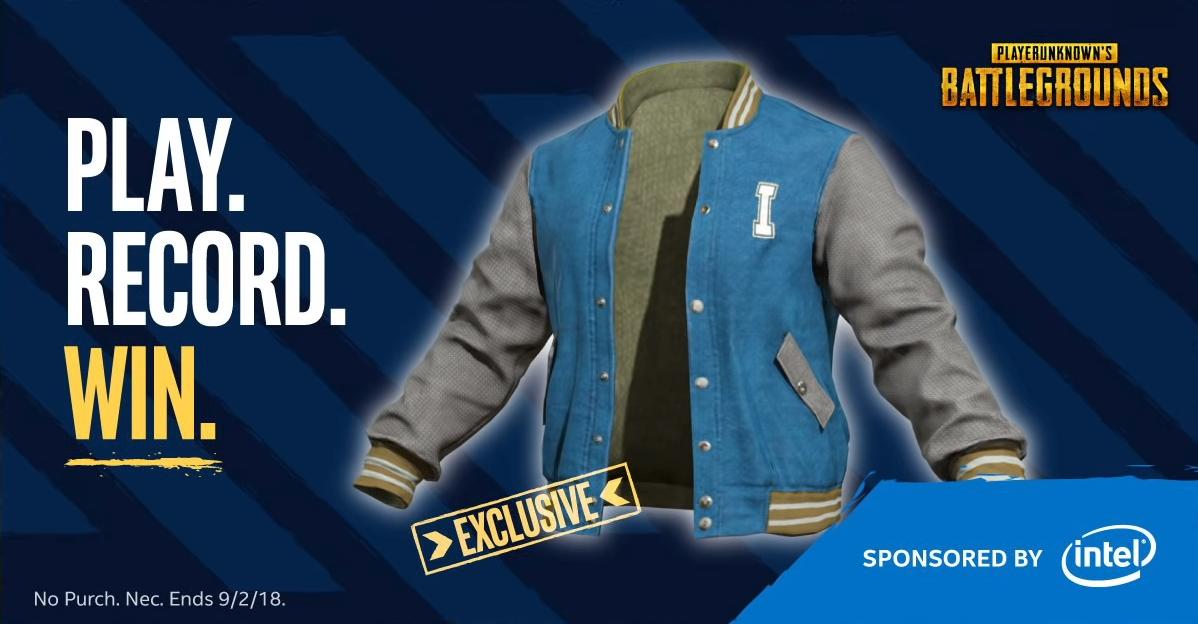 Розыгрыш эксклюзивных курток и пк от Intel в PUBG