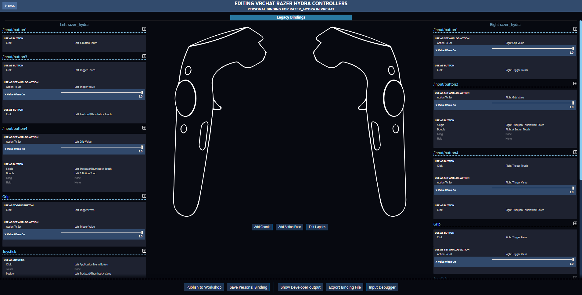 Steam Community :: Guide :: Oculus DK2 + Razer Hydra custom control
