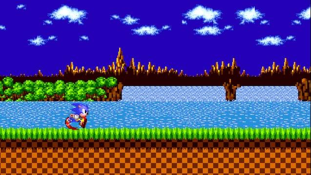 Steam Workshop Sonic Running Through Green Hill