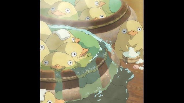Steam Workshop Spirited Away Duck Bath