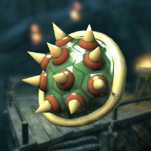 Bowsette's Turtle shell画像