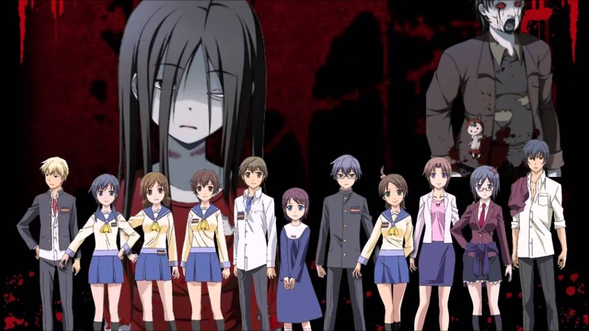Steam Workshop Corpse Party Tortured Souls Anime Characters