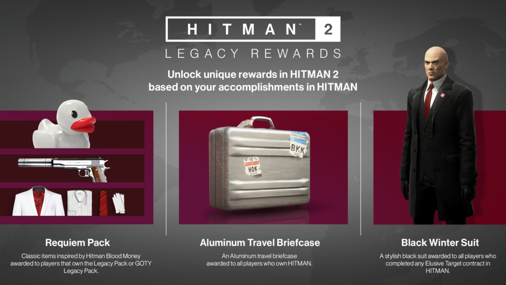 Steam Community Guide Hitman 2 Item Unlock List And What