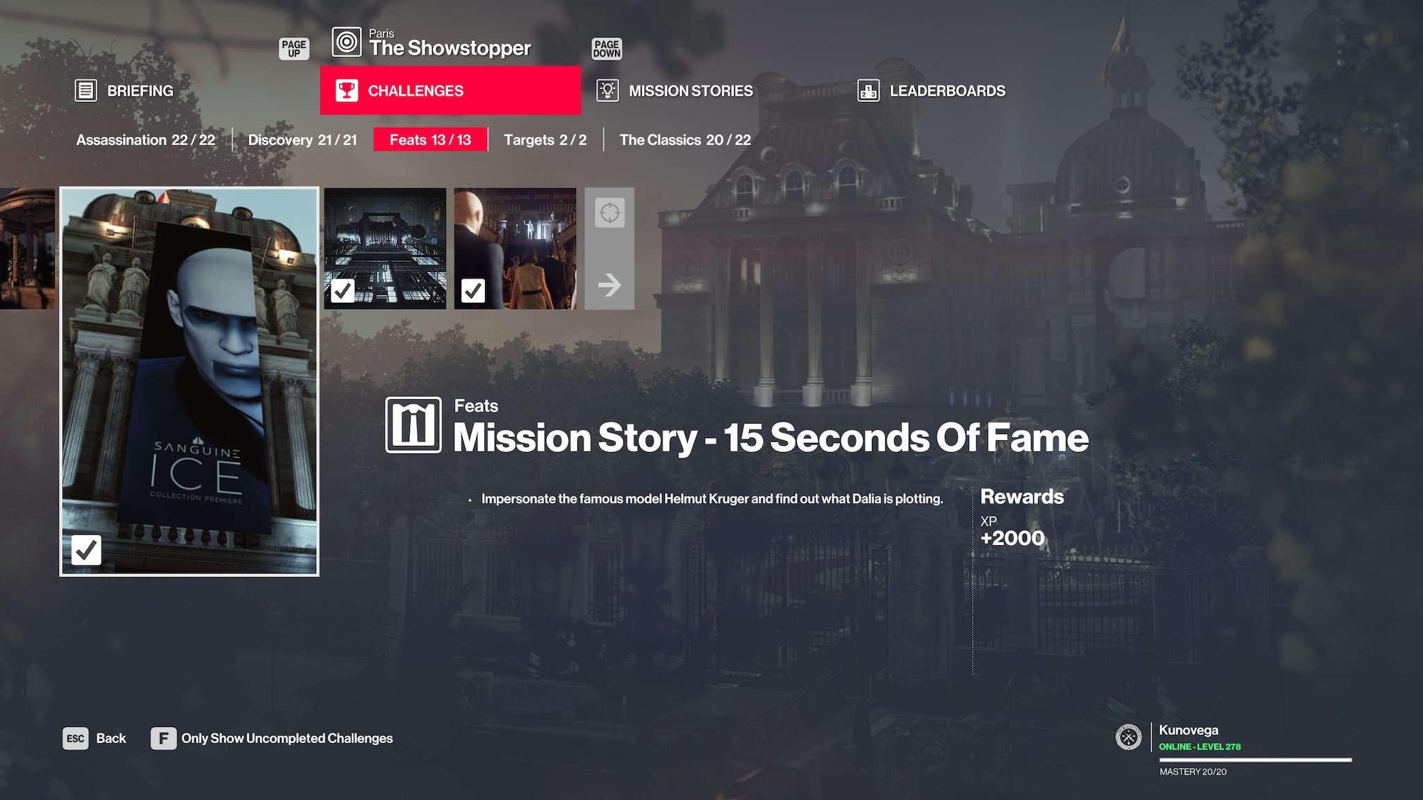 Steam Community :: Guide :: Hitman 2 Item & Unlock List ~ And What