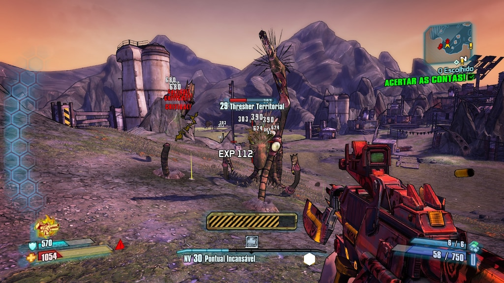 borderlands 2 exp