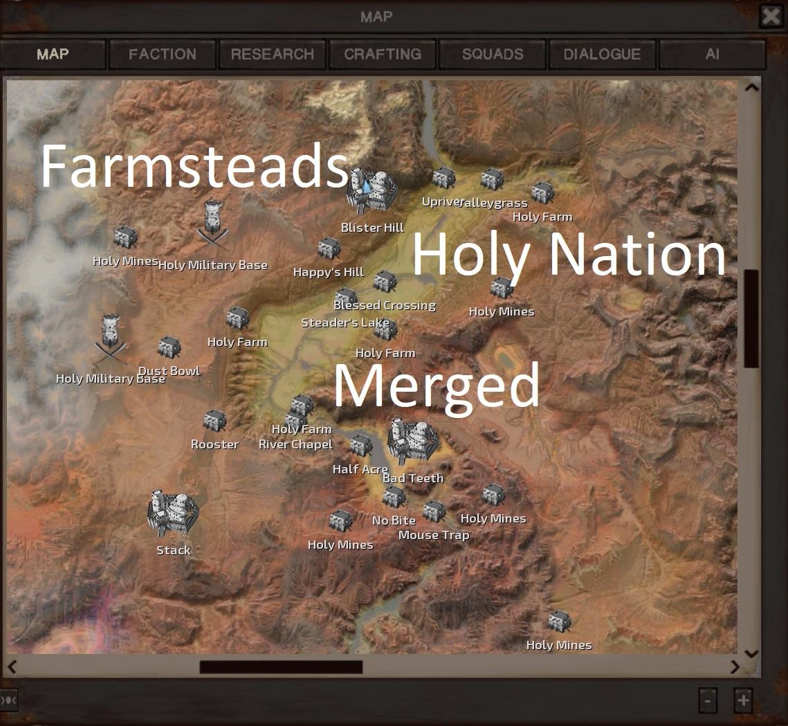 Farmsteads: Holy Nation MERGED