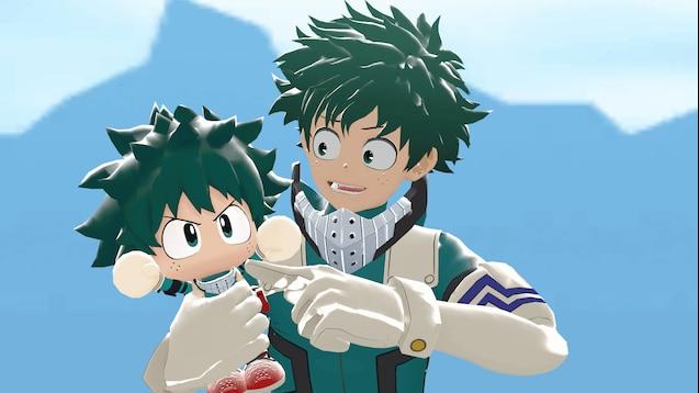 Steam Workshop Izuku Deku Midoriya Chibi My Hero
