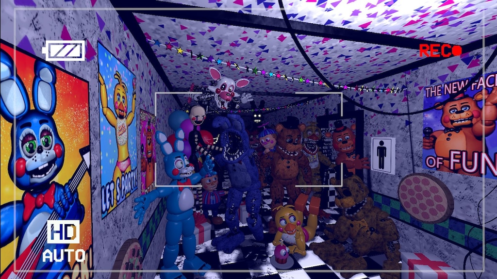 Steam Community :: Screenshot :: Fnaf 2 Main Hall Cam