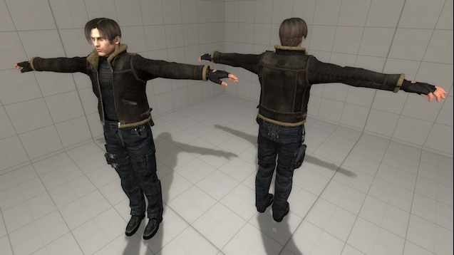 Steam Workshop Leon S Kennedy Hd Resident Evil 4 Ragdoll