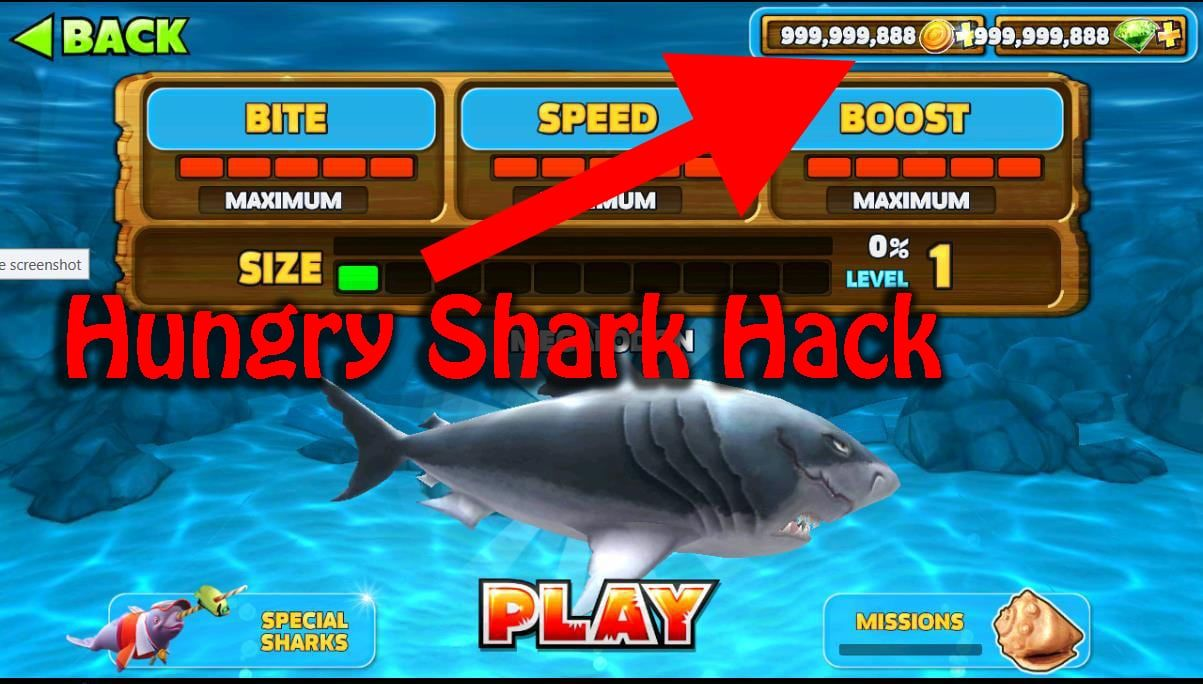 how to get free gems on hungry shark evolution