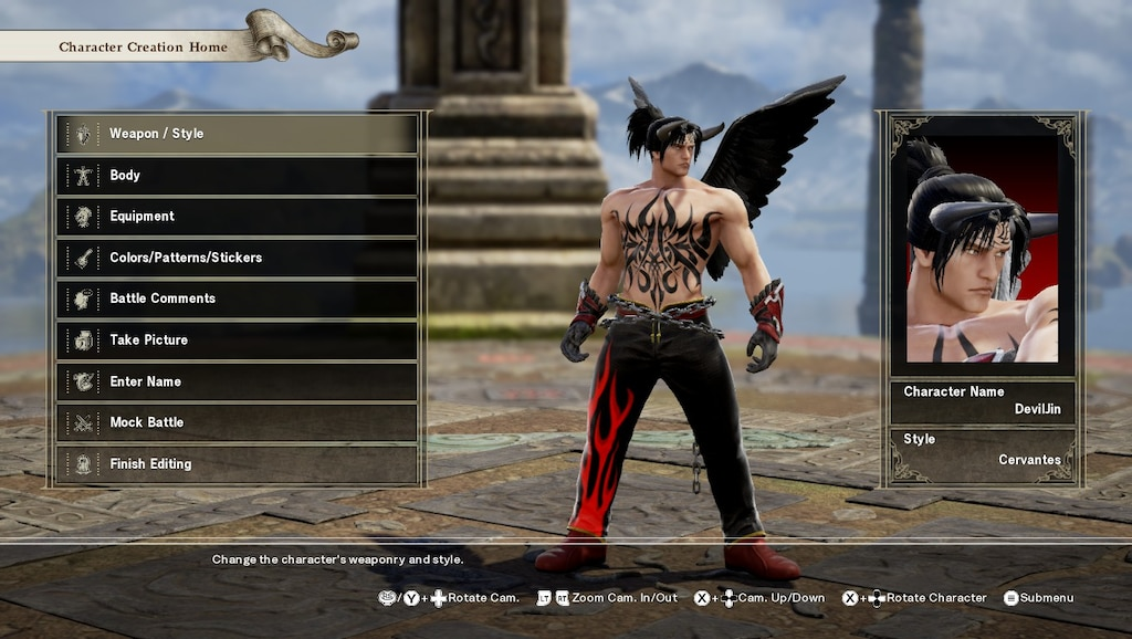 Steam Community Screenshot Devil Jin Tekken 5