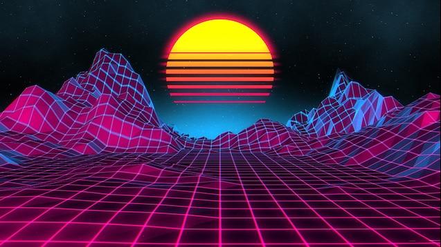 Steam Workshop Neon Sunset