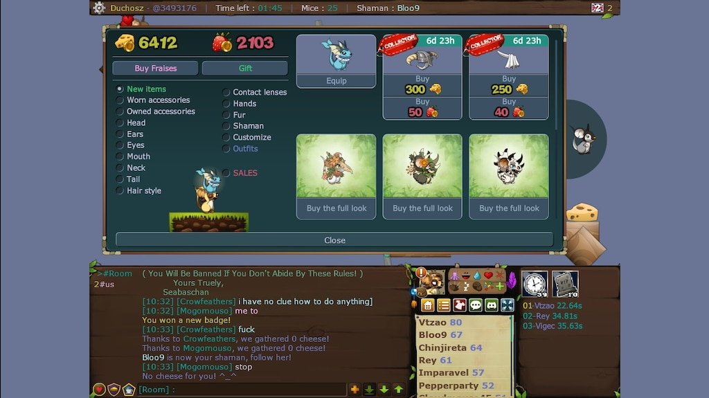 Steam Community :: Screenshot :: this new Vaporeon fur is so