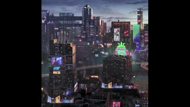 Steam Workshop Cyberpunk 2077 Night City Live Wallpaper 1080p