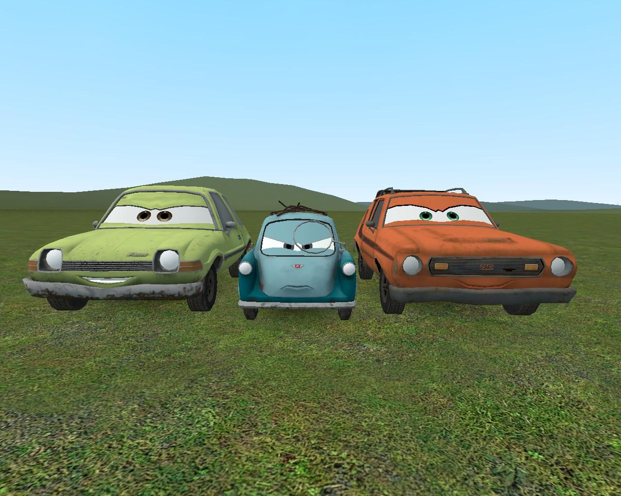 Steam Workshop :: Disney Cars Pack