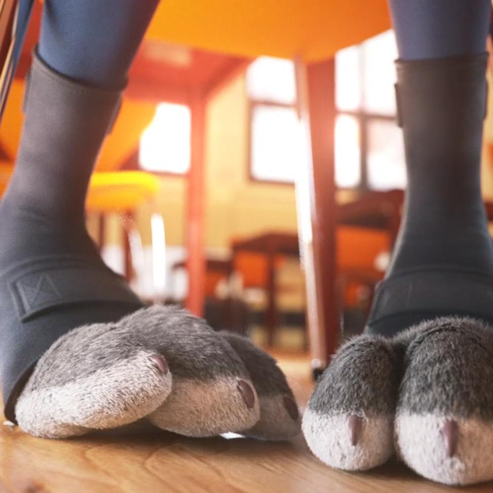 judy hopps feet