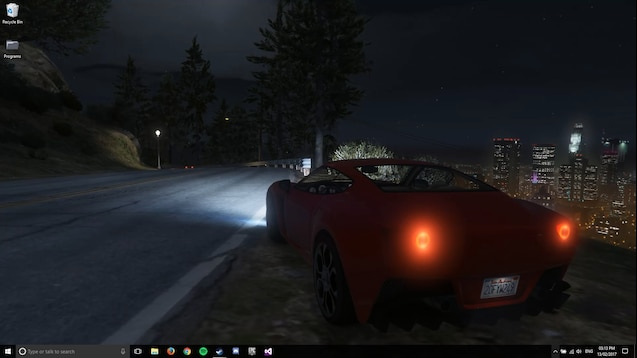 Steam Workshop Gta V Live Wallpaper Night With Rain And