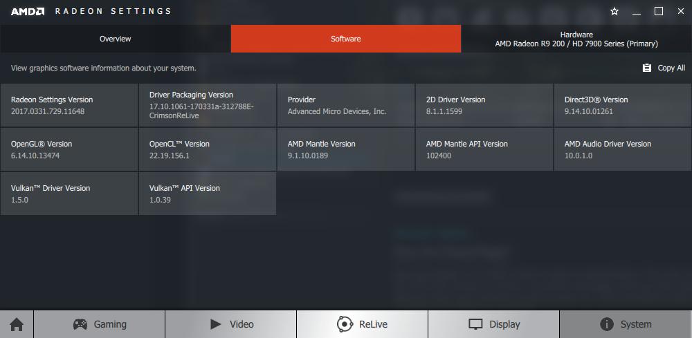 AMD 17.4.1 DESCARGAR DRIVER