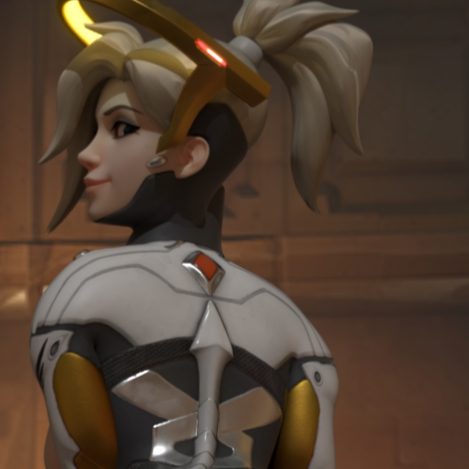 Mercy Bounce - Overwatch [animated 18+]