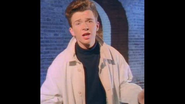 Steam Workshop Rick Astley Never Gonna Give You Up Video