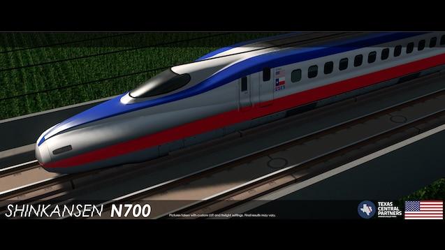 Steam Workshop :: Shinkansen N700 - Texas Central (5Cars)