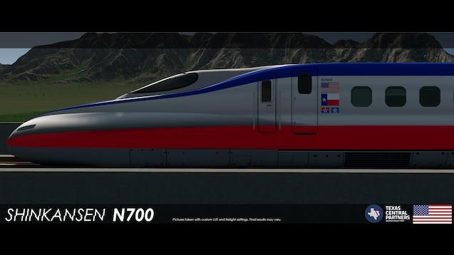 Steam Workshop :: Shinkansen N700 - Texas Central (9Cars)
