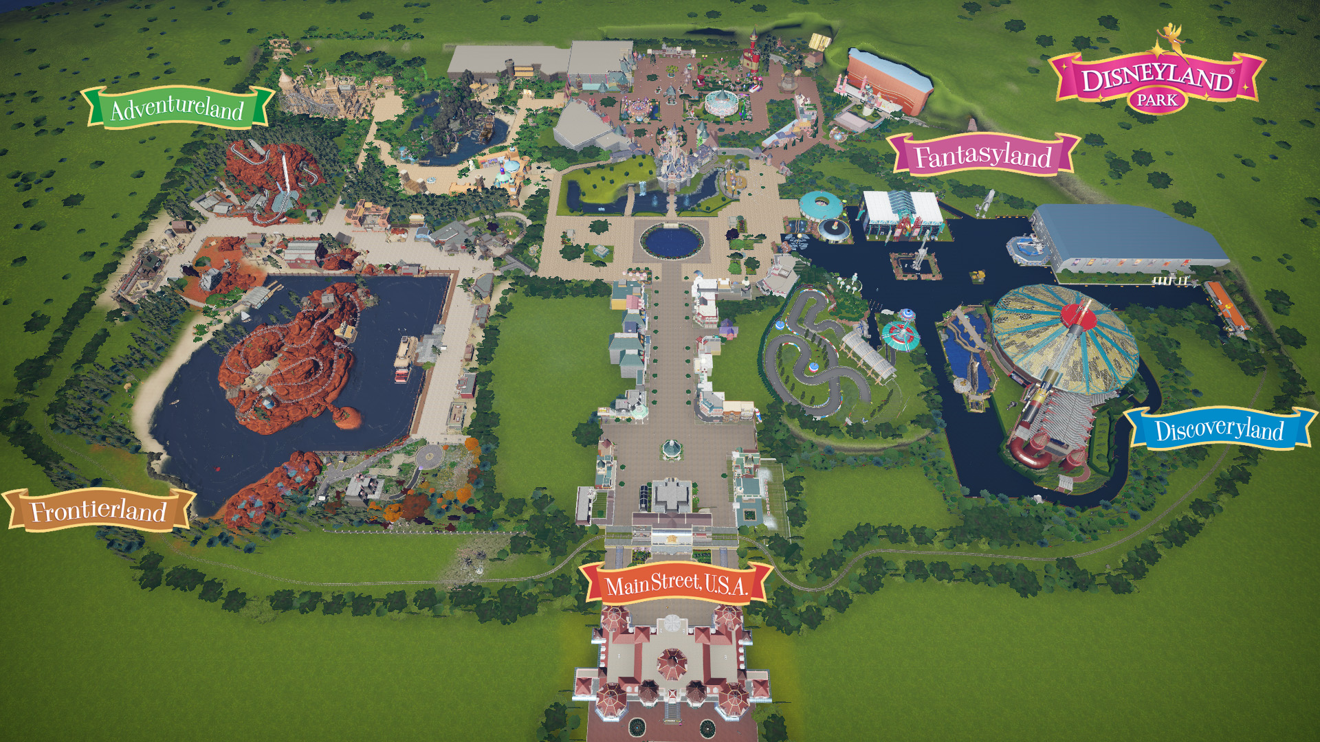 Steam Workshop Walt Disney Parks