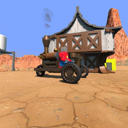 Warsztat Steam Steampunk Trike Keep In 1st Gear