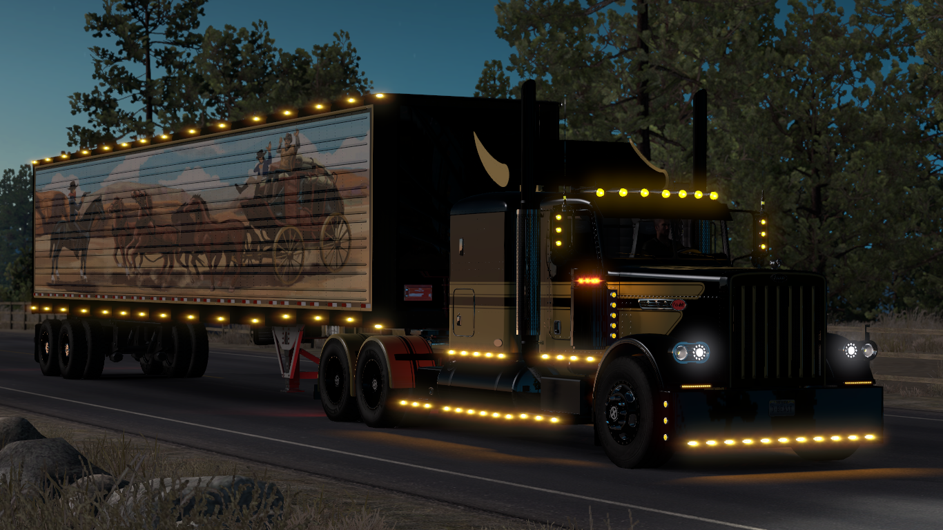Steam Workshop :: Smokey and the Bandit Truck and Trailer Skin R I P