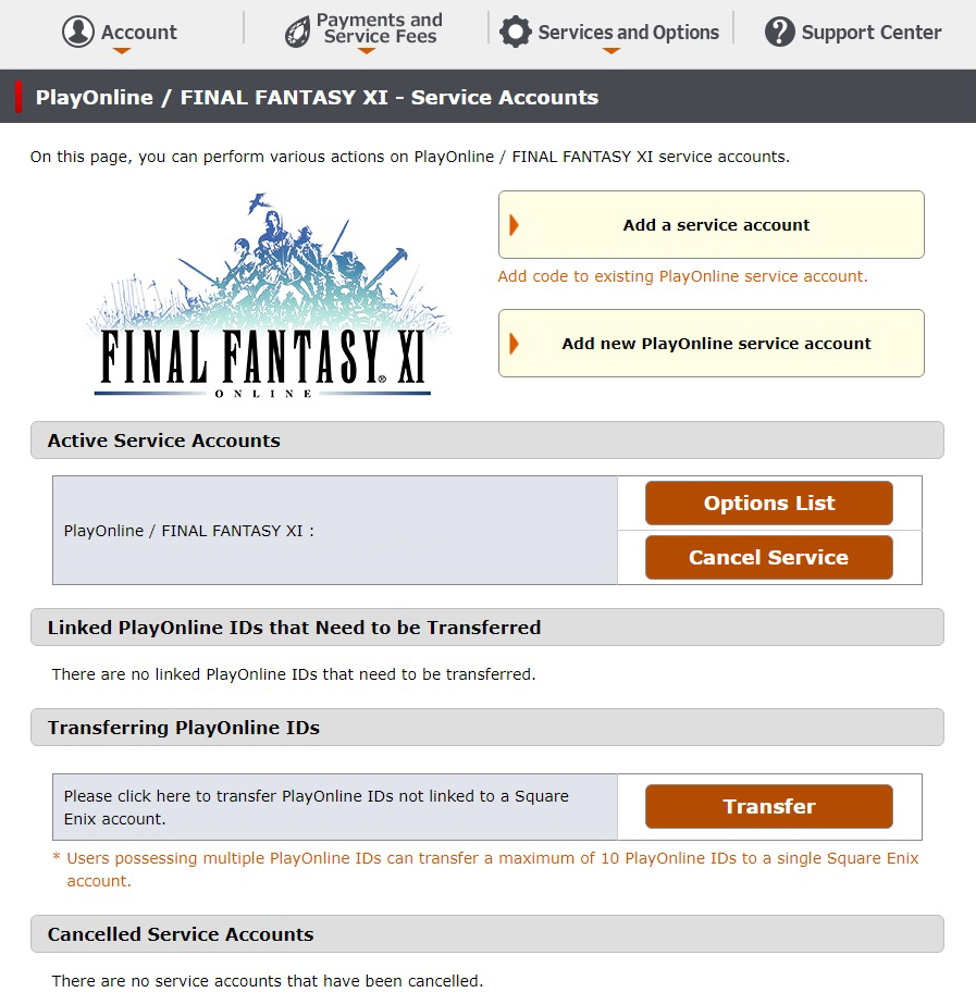Steam Community :: Guide :: Setting up FFXI - Account
