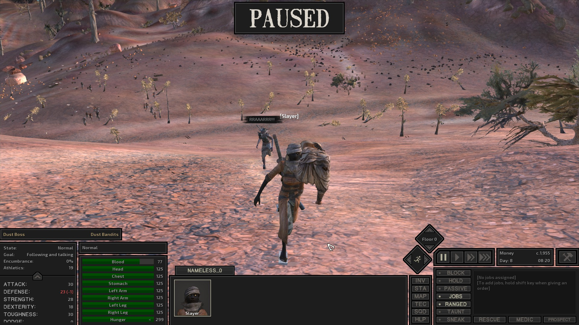Been playing a game called Kenshi, wanted to share my adventures
