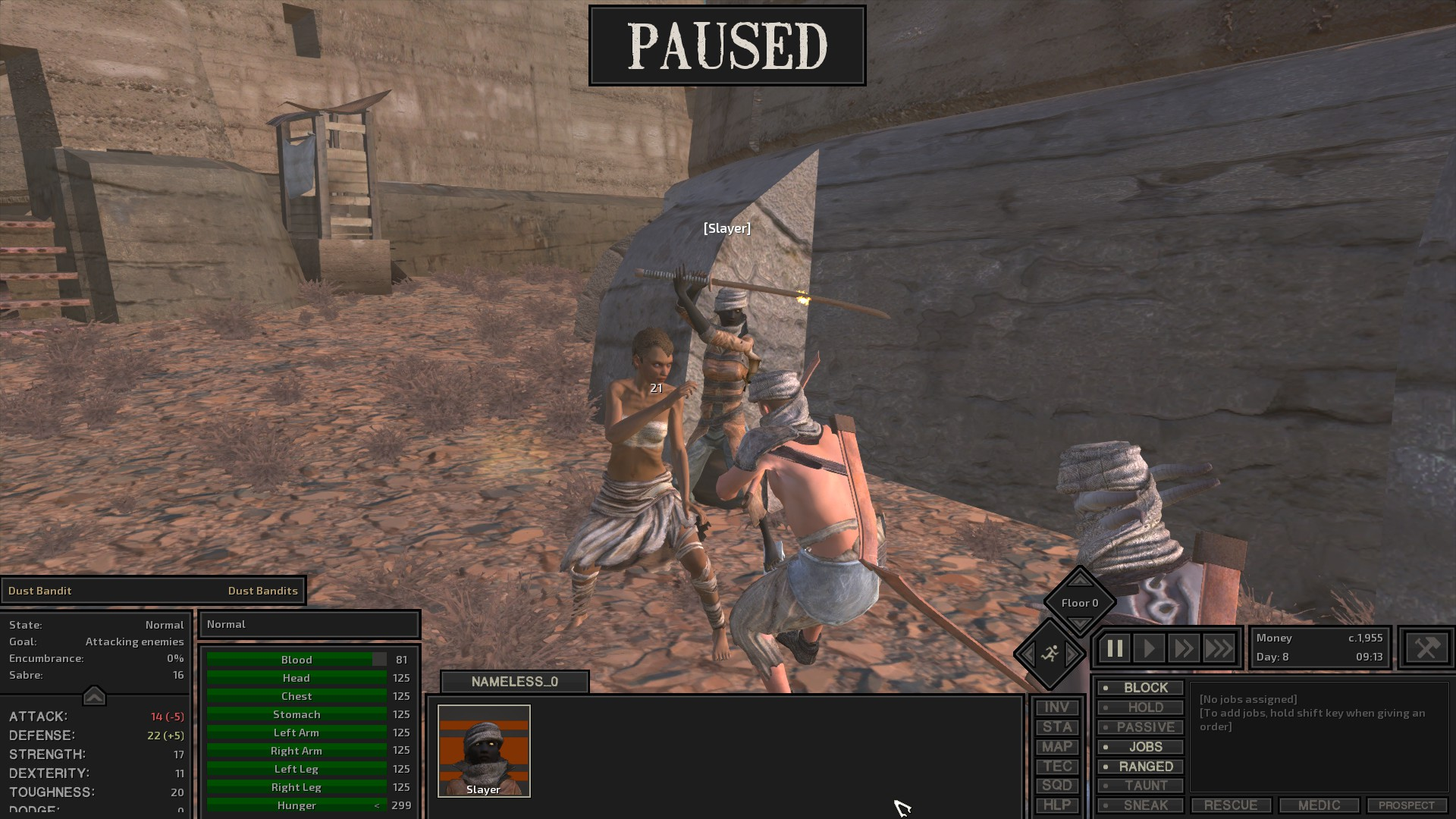 Kenshi Leather Armor Crafting Bench