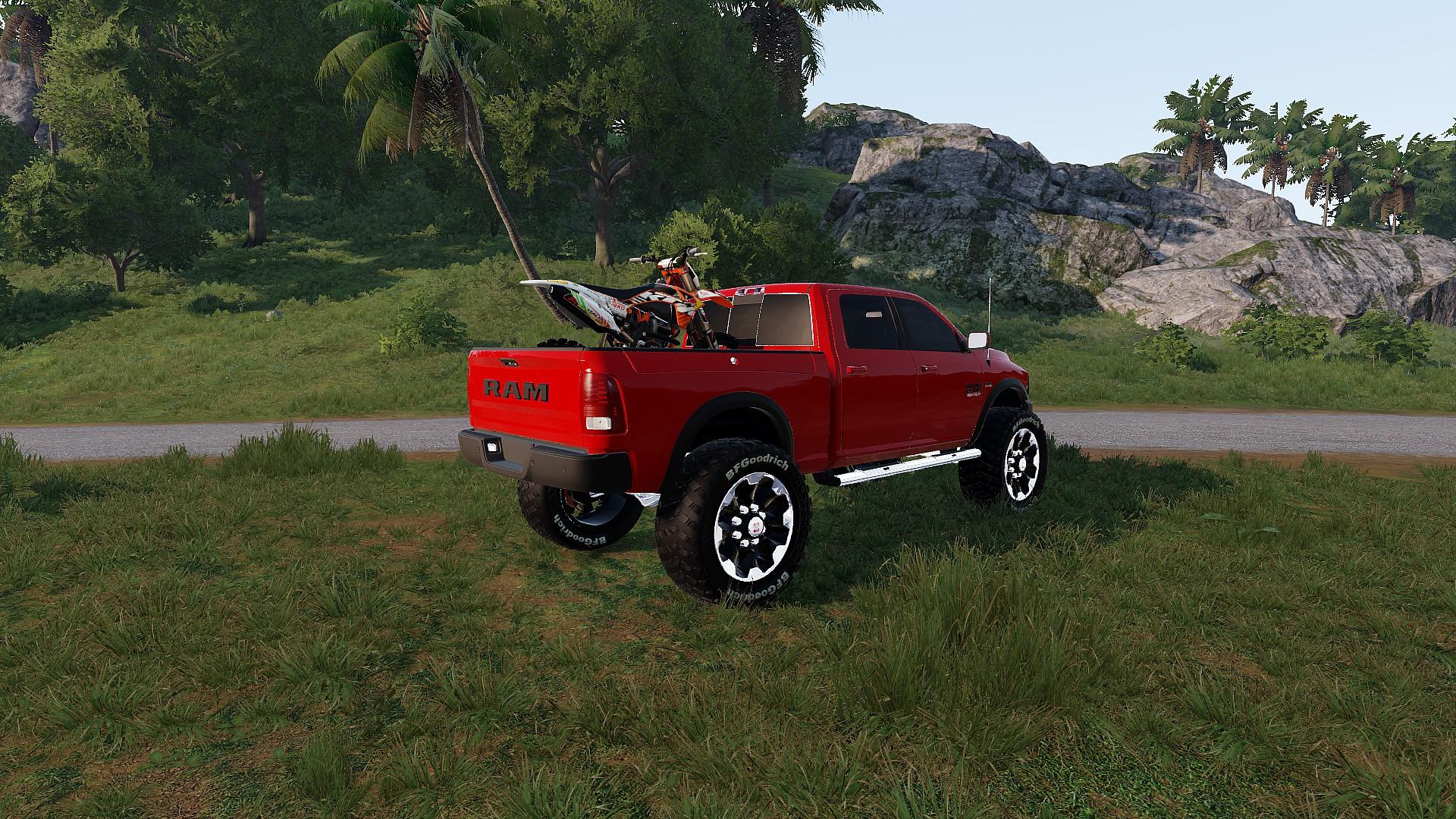 Steam Workshop Dodge Ram 2500 2017 6x6 Cop
