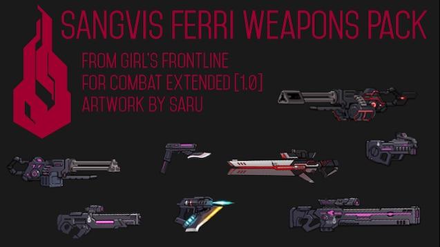 Steam Workshop :: [CE][WIP]Girl's Frontline: Sangvis Ferri