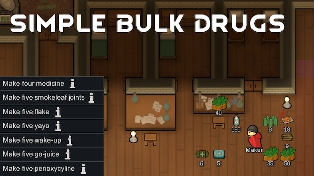 Steam Workshop :: Simple Bulk Drugs