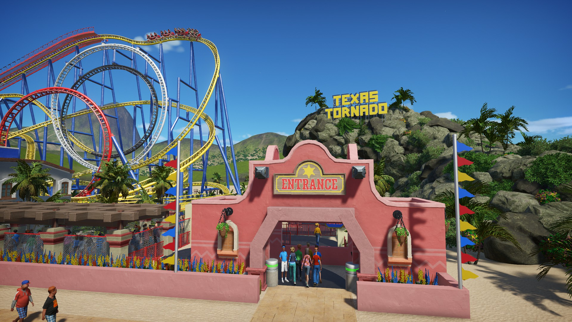 Steam Workshop Texas Tornado Six Flags Astroworld