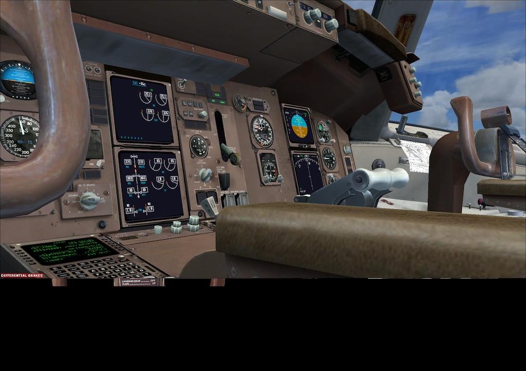 ชุมชน Steam :: ภาพหน้าจอ :: Captain Sim 767-300 cockpit