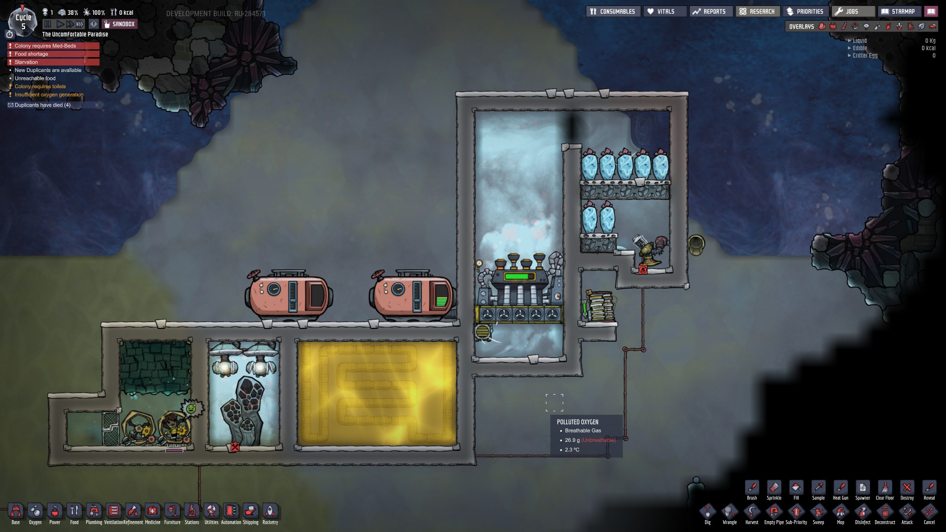 Exploit-free Steam Turbine attempt - [Oxygen Not Included