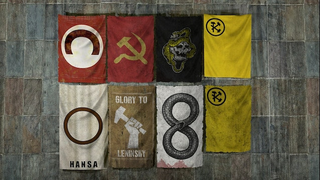 Steam Workshop Metro 2033 Flags