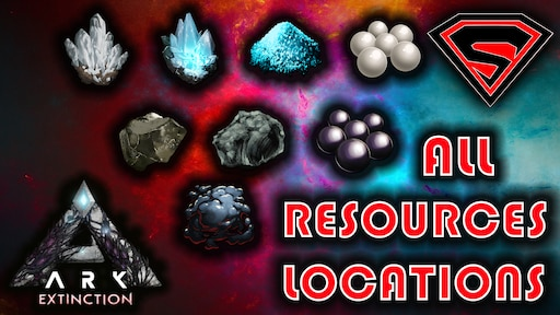 Steam Community Guide Ark Extinction All Resources Locations Guide How To Get Black Pearls Sicica Pearls Metal More Survival evolved that can be used to craft higher tier tek armor, weapons, and buildings. ark extinction all resources locations