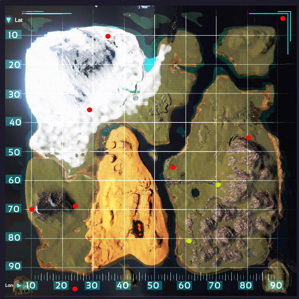 Castoroides Ark Map | The Noob: Official