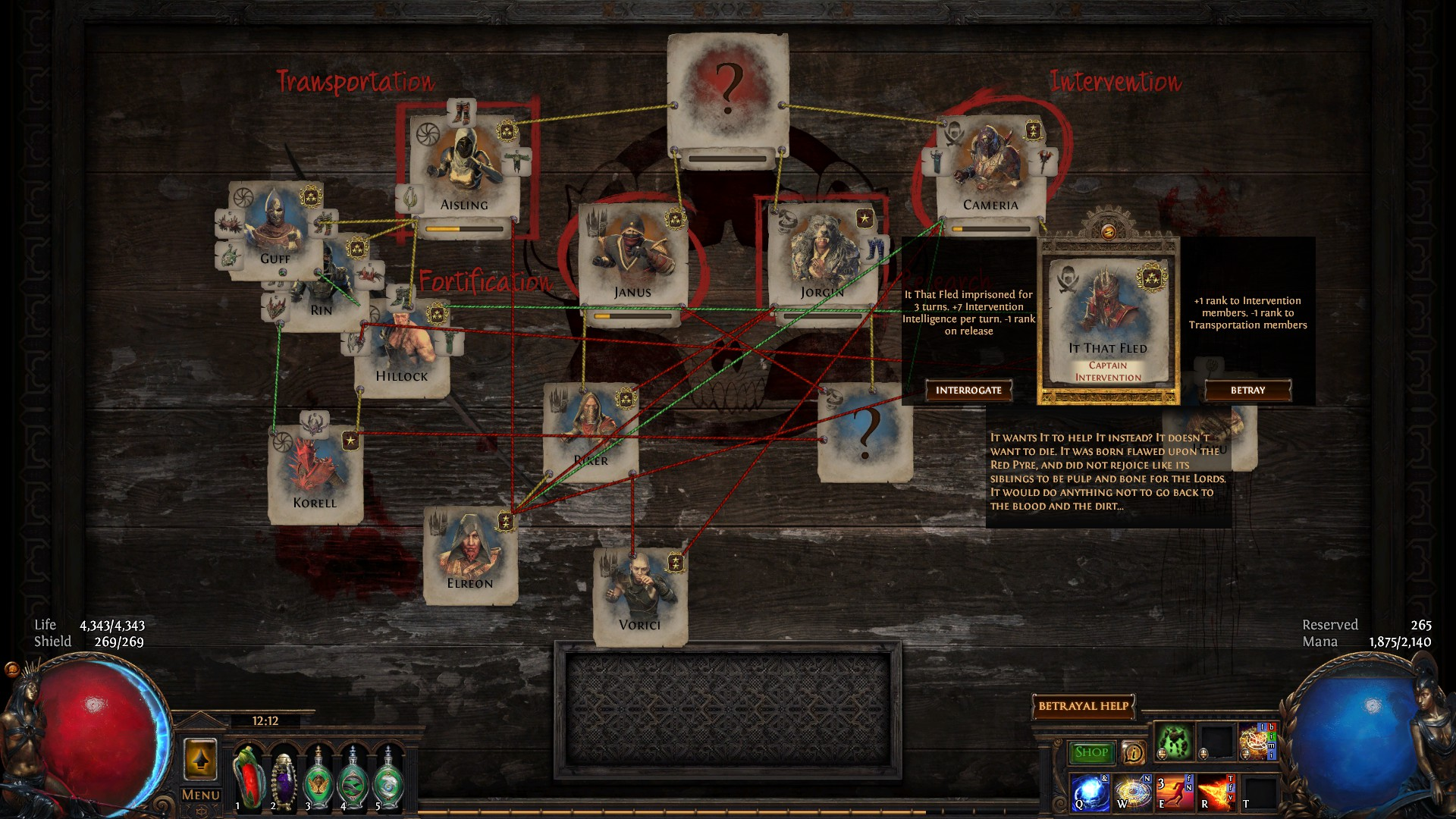 Steam Community Guide Basic Guide To Betrayal Mechanics 3 8 Blight Update And yes, if you want to use it you have to put it under skill slot (if you already use all of them, then just. basic guide to betrayal mechanics 3 8