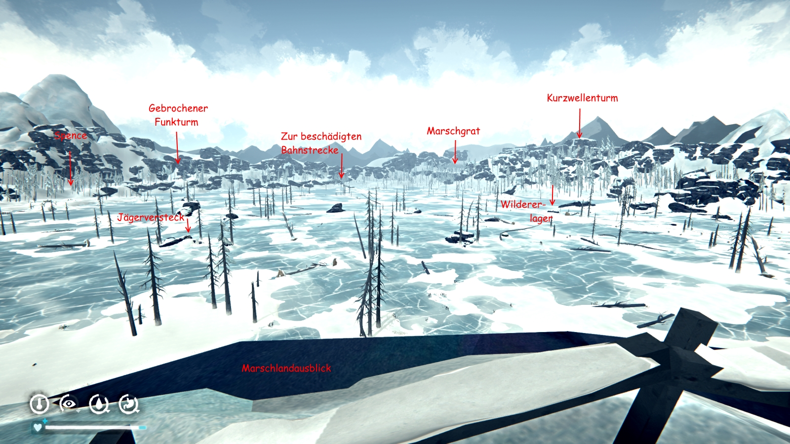 The Long Dark Karte Kustenstrasse.Steam Community Guide Repconn S Reisefuhrer Die
