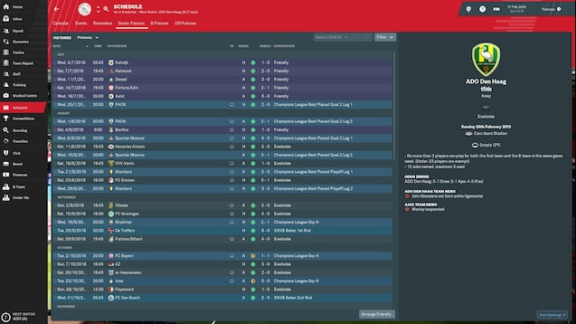 football manager 2019 update 19.3.4 download
