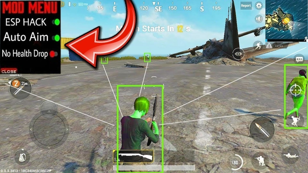 Pubg Mobile Hack Hack Mod | Pubg 1 Second Freeze