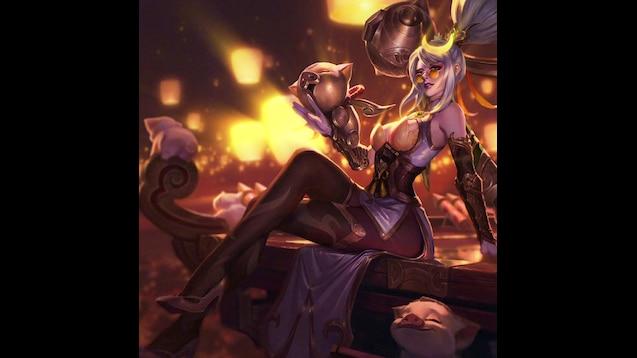 Steam Workshop :: Firecracker-Vayne-Prestige-Edition-Splash-Art-HD